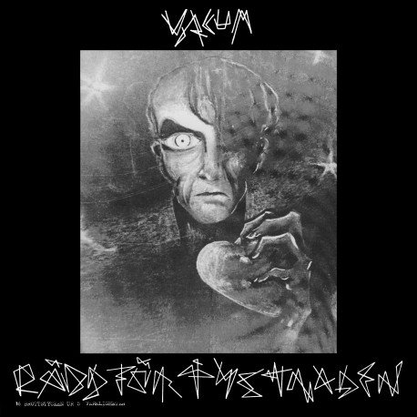 Vacum - Rädd för tystnaden/Korståg Dubbel LP