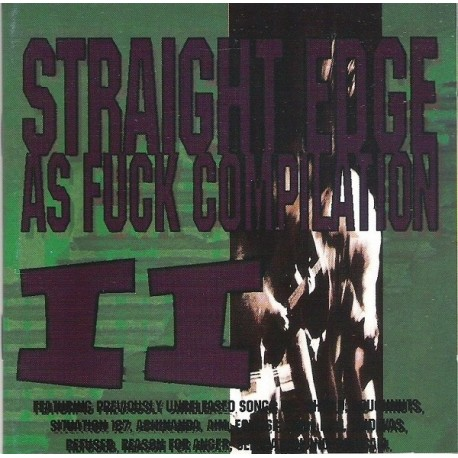 Straight Edge As Fuck II