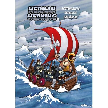 """Herman Hedning Affisch """"Bottenhavets bedagade bärsärkar"""""""