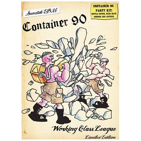 Container 90 - Working Class League Cd