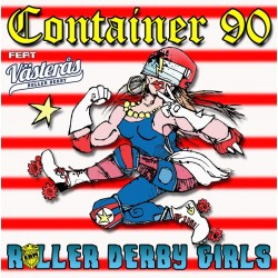 Roller Derby Girls 10""