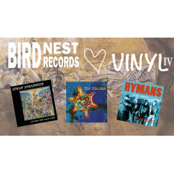 Birdnest Hjärta Vinyl IV - all six editions